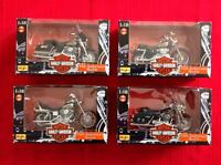 4 Harley Davidson 1:18 Maisto  Series 3 (95th Anniversary Model)