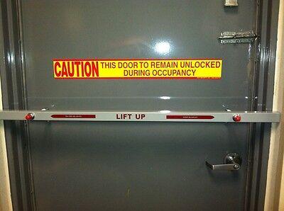 Lot Of 2 36 Security Steel Back Door Bars For Your Home Business Back Door
