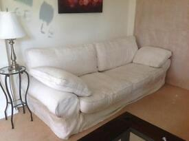 White sofa - collect only