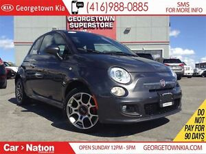 2015 Fiat 500 SPORT | LEATHER | ALLOY WHEELS | BLUETOOTH |