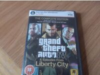 Gta IV Complete Edition Pc Dvd Game.