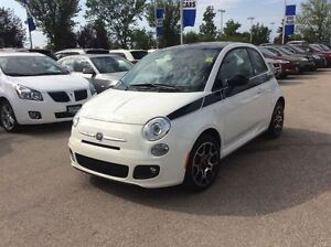2012 Fiat 500 Sport LOW KMS ONLY 4573 !!!!
