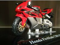 Honda 1.24 scale FIREBLADE / new /*unopened seald box/ with stand