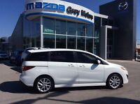 2012 Mazda MAZDA5 GT, Heated Leather, Sunroof, Loaded, low kms!!