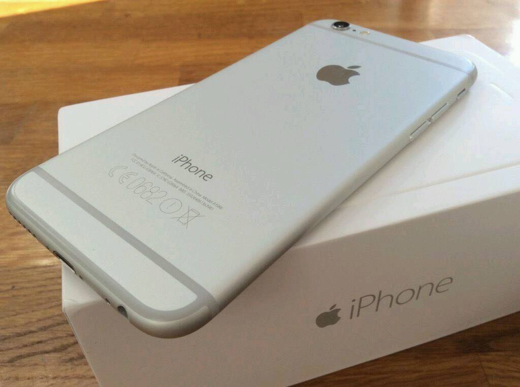 iPhone 6 16GB Silver Boxed Newin Littleover, DerbyshireGumtree - iPhone 6 16GB Silver Boxed Like New with accessories and unused earphones Unlocked on 02/Tesco/GiffGaff Networks Can be unlocked for a small price