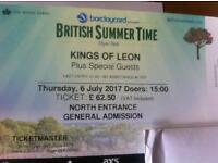 2 x Kings of Leon tickets