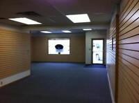Prime ground-level office or retail space for lease