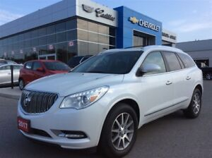2017 Buick Enclave Leather | Rear Cam | Sunroof | 7-Seater
