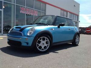 2005 MINI COOPER S ** CUIR, TOIT PANO !! LEATHER, PANO SUNROOF !