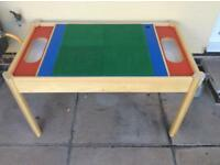 Lego table and storage