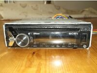 Sony MEXN4000BT car stereo