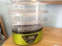 Unused Three Tier Electric Steamer Collection Item BS3