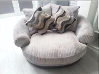 Harveys lullabye pillowback cuddler chair for sale