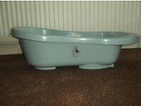 Light Blue Baby Bath 0-12 months - Great Condition - £5