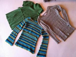Girls10/12 light knits- lot of 3
