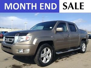 2010 Honda Ridgeline EX-L 4X4 | HEATED LEATHER | FOG | SUNROOF |