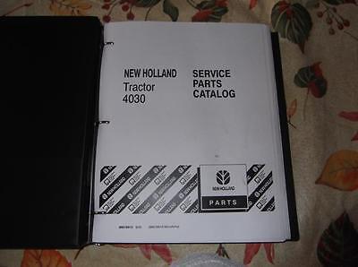 New Holland 4030 Tractor Parts Catalog Manual
