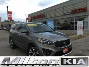 2016 Kia Sorento 3.3L SX+ 7-Seater | NAV | LEATHER | PANO ROOF