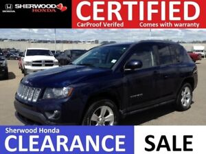 2014 Jeep Compass North 4X4| REMOTE START| HEATED SEATS