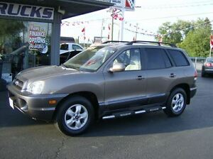 2006 Hyundai Santa Fe GREAT LOW KMS !!! 4X4