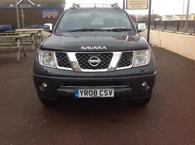 NISSAN NAVARA OUTLAW D/C - 12 MOT - 12 MONTHS WARRANTY - P/X WELCOME - ANY TRAIL