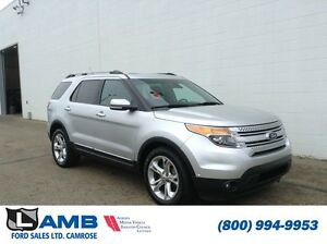 2014 Ford Explorer Limited Moonroof Navigation Trailer Tow Activ