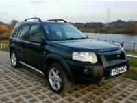 Land Rover Freelander 2005 HSE 1.8 Black Station Wagon Low mileage