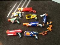 Nerf guns job lot