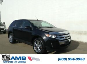 2013 Ford Edge Limited AWD with Cargo Accessory Package and Cana
