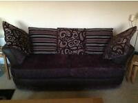 SOFAS - 3 SEATER 2 SEATER & SWIVEL CHAIR (non smoker, no pets)