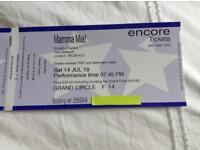 Mamma Mia theatre tickets