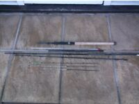 Shakespeare Aerial Advance Feeder rod,11 ft with ext to 12.5ft, Excellent condition
