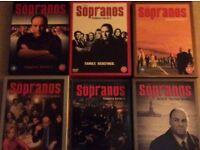 Supranos dvd's