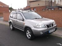 2003 Nissan X Trail Sport X, DIESEL, 6 Speed, Mot June 17. £1,675.ono. P/X Welcome