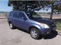 Honda CRV I-vtec SE Sport Auto 2003 ,2.0l Petrol -New MOT -A/C