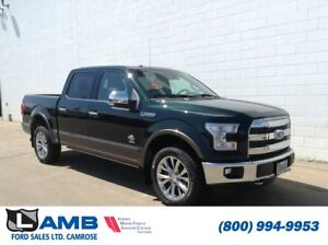 2015 Ford F-150 King Ranch 4x4 with BLIS, Navigation, Twin Panel