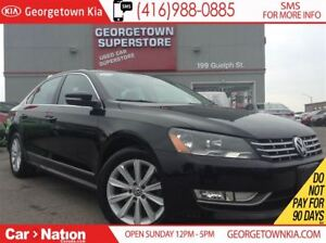 2014 Volkswagen Passat 2.0 TDI Highline|NAVI | LEATHER | ROOF|BA