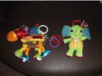 Two Lamaze Baby Toys