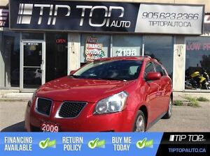 2009 Pontiac Vibe ** AWD, Low KMs, Well equipped **