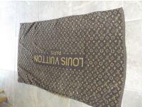 LOUIS VUITTON LARGE BEACH TOWEL
