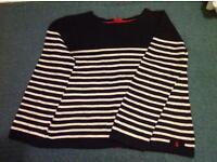 Joules reversible jumper cardigan size 16