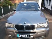BMW X3 for sale - low mileage and excellent condition