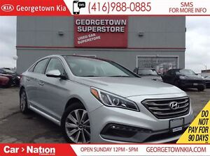 2015 Hyundai Sonata Sport | LEATHER | PANO ROOF | BACK UP CAM |