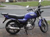 125 cc jianshe Very good condition motd ready to go needs nothing any questions just ask
