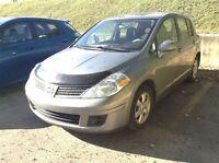 2009 Nissan Versa 1.8S, A/C, 36.69$/ SEM-TOUT INCLUS