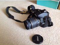 ** LIKE NEW ** Nikon D D5300 24.2MP Digital SLR Camera Black (Kit w/ 18-55mm Lens) DSLR not Canon