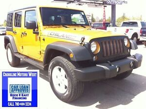 2014 Jeep Wrangler Unlimited Sport | Removable Roof/Doors | Powe