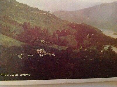 Tarbet,Loch Lomond postcard