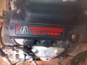Engine & Transmission from 2001 Acura CL 3.2 Type S