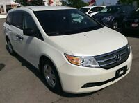 2013 Honda Odyssey LX- The dynamics make it one of the best.